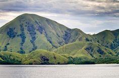 Paisaje De La Isla De Komodo