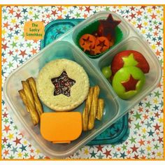 Star Student sealed fairy bread sandwich in @EasyLunchboxes /The Lucky Lunchbox 01-31-14