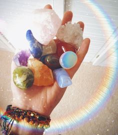 Carry stones with you , they subtly help u throughout your day ...