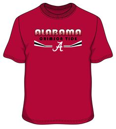 Exclusive collection of University of Alabama Football Apparel, buy from the wide range of crimson tide boutique collections at a special discount. Alabama Shirts, Football Outfits, University Of Alabama, Alabama Football, Alabama Crimson Tide, Exclusive Collection, Tees, Mens Tops, Fashion