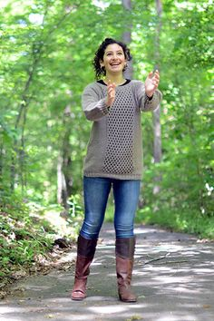 Universal Yarn Pattern : Pebbled Path Pullover