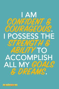 Begin your day with this positive affirmation!