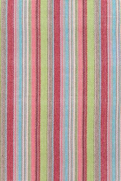 Taffy Stripe Woven Cotton Rug | Dash & Albert Rug Company