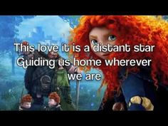 Correct lyrics: This love, it is a distant star Guiding us home wherever we are This love, it is a burning sun Shining light on the things that we've done I . Disney Songs, Disney Music, Rangers Apprentice, Best Titles, Geek Humor, Songs To Sing, Geek Girls, Female Singers, Choir