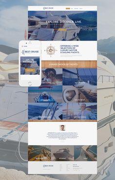 Yacht Charter Web Template