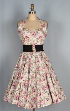 Floral dress, possible option with yellow floral and plain green dresses