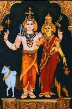 God Shiva & Goddess Parvati