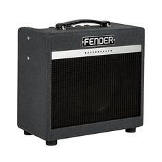 The Fender Bassbreaker series expand Fender's tube guitar amp line with a variety of great models. The 15 combo packs a lot of punch for its small size. They are fueled by three 12AX7 preamp tubes alo