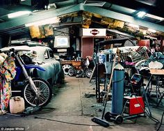 How men's sheds reflect their beer, tool and fast-car loving owners - Daily Mail