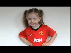 The most famous United fan on Earth recently, the adorable Baby Lilly singing U-N-I-T-E-D United are the team for me.... So Cute, love baby Lilly, hahahahaha