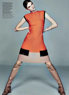 awesome Elle Canada August 2014 | Carly Moore by Tiziano Magni  [Editorial]