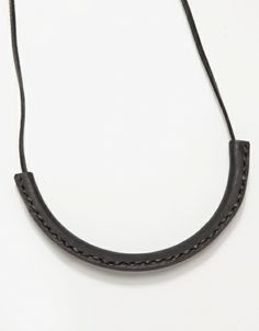 Circuit Necklace in Black
