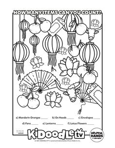 Print and color while checking out #LunarNewYear episodes of your favorite #KidoodleTV series! Lunar New, Activity Sheets, Coloring Sheets, Some Fun, Fun Activities, Calendar, Printables, Tv, Colouring Sheets