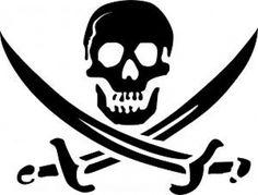 Calavera Pirata Logo | Descargar Fotos gratis