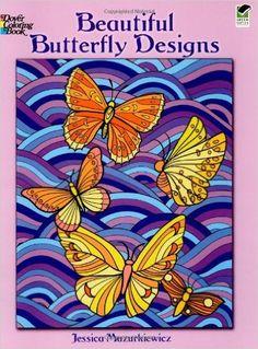 Beautiful Butterfly Designs Jessica Mazurkiewicz 9780486469867 Amazon Books