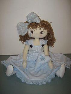 Le Creazioni di Sasha: Bambola di pezza, stile raggedy