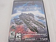 Legends of Pegasus - PC Game Strategy Windows 7, XP, Vista NEW  #KalypsoMedia