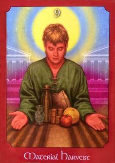 Material Harvest - psychic tarot financial security and abundance #tarot #wealth #prosperity