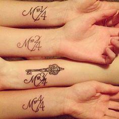 Tatuajes para hermanas que te derretirán el corazón ⋮ Es la moda