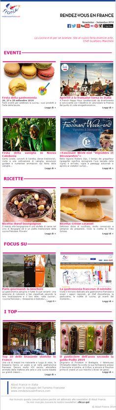 Torna la Festa della Gastronomia Francese, dal 26 al 28 settembre.  E la gastronomia francese sarà di scena anche in Italia grazie agli Apéritif à la Française a Torino e Milano... #RDVFrance #ViaggiFrancia #FeteGastronomie #FDLG2014 #Aperitif2014 #FestadellaGastronomia #FestaGastronomia #Gastronomia #Francia