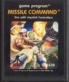MISSILE COMMAND - Atari 2600 Video Game - Atari 2600 Classic Video Game. Game only. Great condition!!! Tested and works like new.