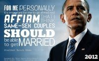 Obama comes out in support of gay marriage