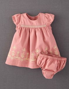 Gorgeous simple Embroidered Dress from mini boden 2012