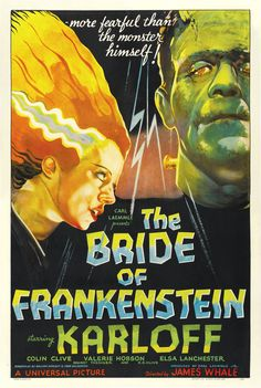 The Bride of Frankenstein (1935) - US One Sheet   (Karoly Grosz)