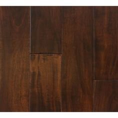 The Somette Bremond Acacia Series Coffee Engineered Hardwood Flooring ($205) ❤ liked on Polyvore featuring home, home improvement, flooring and brown