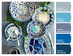 Blue Byzantine