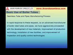 Basic Use of Boiler Tubes