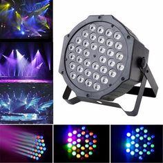 BangGood - Eachine1 36W LED RGB Auto Sound-activated Par Light Party KTV Disco DMX512 Stage Lighting - AdoreWe.com