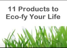 My favorite eco picks featured on Huffington Post's Stylelist Home! #earthday