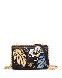 52f8802955 Prada Hawaiian Leather Satchel Bag