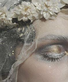 mermaid or angel makeup