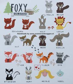 ......Yvonne is Stampin' & Scrapping.....: Veel 'friends' voor Foxy