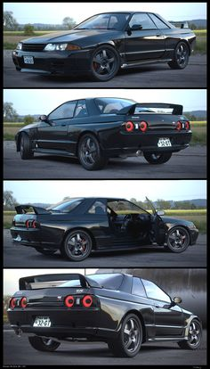 Nissan Skyline R32: Its a shame they're illegal here in the US. R35 is still good but I really prefer the old models (R32-34)