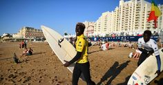 Olympic Dreams at Europe's 'California of Surfing'
