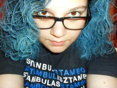 blue hair o mein