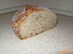 No work bread Slovak Recipes, Czech Recipes, Bread Recipes, Cooking Recipes, Cooking Ideas, Czech Desserts, Bread And Company, No Knead Bread, Gluten Free Cooking