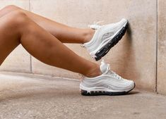super popular 021d5 55db7 Nike Air Max 97  Summit white  Womens Trainers AQ8760-100