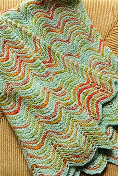 Shibui Courant Baby Blanket pattern