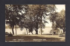 #Cambridge wisconsin wi 1943 rppc lake ripley park, boat #fishing, #lakeside,  View more on the LINK: http://www.zeppy.io/product/gb/2/380524589694/