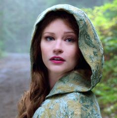 Emilie de Ravin as Belle in Once Upon a Time