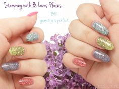 #stampingnails B. Loves Plates