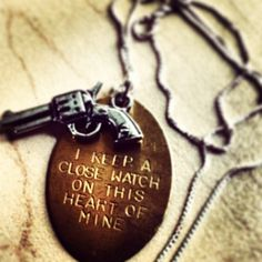 Johnny Cash Necklace fan photo by @_misskrysxo Get yours on BourbonandBoots.com. Follow us on Instagram @Belinda Graves and Boots!