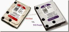 Western Digital Purple vs Red