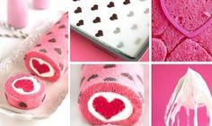 Le gâteau roulé! Y'a de l'amour partout partout!