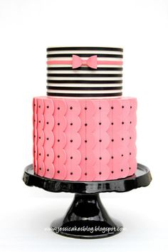 Cake Decorating Tutorials + Classes via Jessi Cakes via Kara's Party Ideas