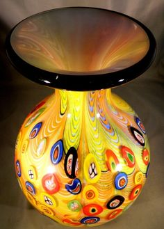 Oleo ~ Murano Art Glass ~ Afro Celotto | Vintage Murano Art Glass Large Vase Venetian by PinkCowGoddess, $950 ...